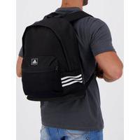 Mochila Adidas Classic 3-Stripes Mesh Preta