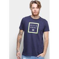 Camiseta Billabong Stacker Masculina - Masculino-Marinho