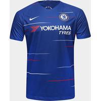 Camisa Chelsea Home 18/19 S/N° Torcedor Nike Masculina - Masculino