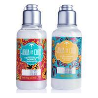 Loção Desodorante Corporal Água De Coco 50Ml + Sabonete Líquido Água De Coco 50Ml