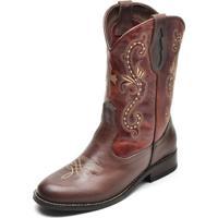 Bota Country Top Franca Shoes Castor / Conhaque