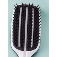 Amaro Feminino Tangle Teezer Escova De Cabelo Blow Styling Half Paddle Black, Black And White