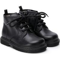 Il Gufo Lace-Up Ankle Boots - Preto