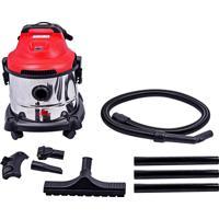 Aspirador De Pó E Água Worker 498564 C/ Filtro 10 Litros 1400W 220V