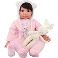Boneca Laura Baby Eloã¡ - Castanho Escuro & Castanho-Shiny Toys
