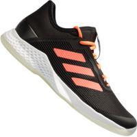 Tênis Adidas Adizero Club - Masculino - Preto/Coral