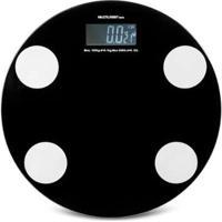 Balança Digital Resistente Eatsmart 180Kg - Unissex-Preto