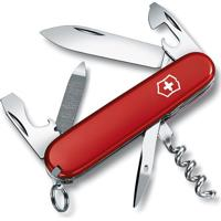 Canivete Sportsman- Inox & Vermelho- 8,4Cm- Victvictorinox