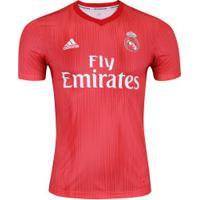 Camisa Real Madrid Iii 18/19 Adidas - Masculina - Coral