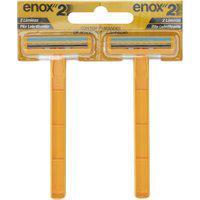 Aparelho De Barbear Enox 2 Lâminas Descartável 2 Unidades