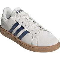 Tênis Adidas Grand Court Masculino - Masculino-Branco+Azul