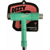 Chave Dizzy T Multifuncional Para Skate Verde Água