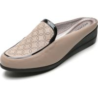 Scarpin Mule Piccadilly Monograma Nude