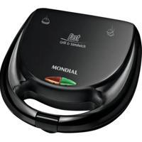 Sanduicheira Mondial S12 750W Preto 220V