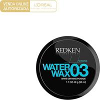 Cera Modeladora Redken Styling Water Wax 03 49G - Masculino-Incolor