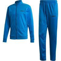 Agasalho Adidas Mts Basics Azul