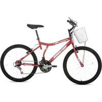 Bicicleta Houston Bristol Peak Aro 24 Quadro Tamanho 18 - Feminino