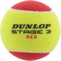 Bola De Tênis Dunlop Mini Red Estágio 3 - Unissex