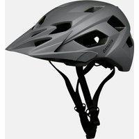 Capacete Enduro Bike Cinza Damatta In-Mold Com Regulagem Traseira