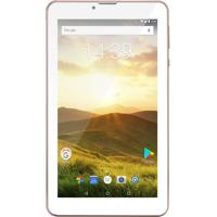 "Tablet M7 4G Plus Tela 7"" Memória Interna 8Gb Golden Rose"