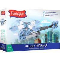 Blocos De Montar - Helicop Rotoblade - Funtastik