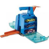 Veículo E Pista De Percurso - Hot Wheels - Track Builder - Caixa Lançadora - Mattel