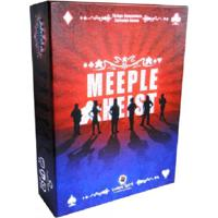 Meeple Heist - Jogo De Tabuleiro - Ludens Spirit