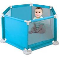 Cercado Para Bebê Azul Braskit Braskit