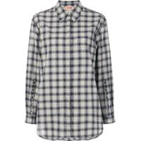 Nº21 Camisa Xadrez - Cinza