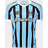 Netshoes  Camisa Grêmio I 18 19 S N° Torcedor Umbro Masculina - Masculino 6d4aabb796ba9