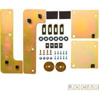 Suporte Da Trava Elétrica - Dial - Etios Hatch/Sedan 2012 Em Diante - 4 Portas - Jogo - Lty53