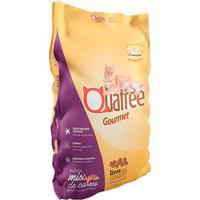 Ração Para Gatos Adultos Quatree Gourmet Sabor Mix De Carnes 3Kg