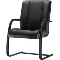 Cadeira New Onix Base Fixa Preta - 54175 - Sun House