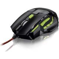 Mouse Fire Button Verde Mo208 Multilaser