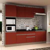 Cozinha Compacta Veneza 8 Pt 2 Gv Carvalle Com Rubi