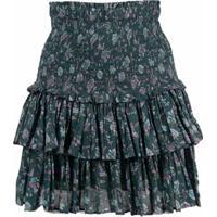 Isabel Marant Étoile Naomi Ruffled Skirt - Verde