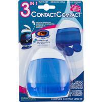 Estojo Contactcompact 3 Em 1 Evriholder Para Lentes De Contato Com Estojo Para Lentes, Espelho E Reservatório Para Solução