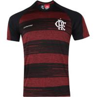 Camiseta Do Flamengo Motion 19 - Masculina - Preto/Vermelho