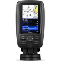 "Gps Echomap Plus Garmin Tela De 4,3"" Com Mapa De Base Mundial Pré-Car"