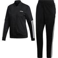 Agasalho Adidas Wts Back2Bas 3S Preto - Tricae
