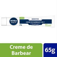 Creme De Barbear 2 Em 1 Nivea Men Sensitive 65G