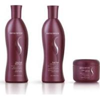 Kit Shampoo E Condicionador 300Ml + Inner Restore Intensif Deep Repair 150 Ml True Hue Senscience - Unissex-Incolor