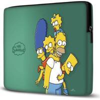 Capa Para Notebook Simpsons Verde 15 Polegadas - Unissex