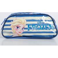 Estojo Escolar Infantil Estampa Princesa Elsa Disney