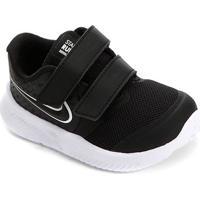 Tênis Nike Infantil Star Runner 2 - Masculino-Preto+Branco