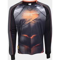 Camisa De Goleiro Manga Longa Poker Sublimax Iron Masculina - Unissex