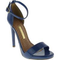 Sandalia Feminina Via Marte - Feminino-Azul
