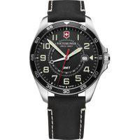 Relógio Victorinox Swiss Army Masculino Couro Preto - 241895