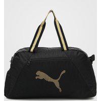 Bolsa Puma At Ess Grip Bag Preto/Dourado