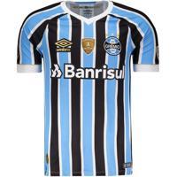 Camisa Umbro Grêmio I 2018 Libertadores